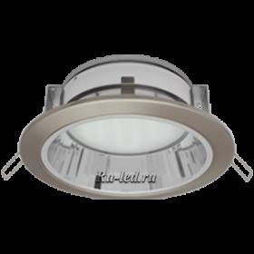 куплю потолочные светильники в магазин, чтобы ваш обновленный интерьер выглядел актуально и современно Ecola GX70-H6R светильник сатин-хром встр. с рефл. 65x171