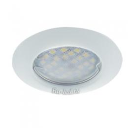 круглый светодиодный светильник Ecola Light MR16 DL92 GU5.3 Светильник встр. выпуклый Белый 30x80 - 2pack (кd74)