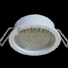 точечные светильники купить дешево Ecola GX53 PD Светильник Встраиваемый глубокий легкий Белый 31x95