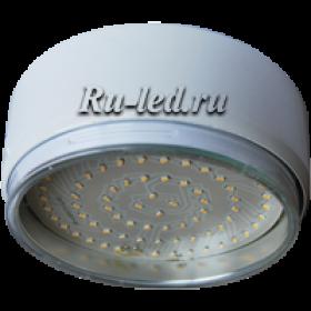 светодиодные светильники белые сделают светлее ваш дом, мастерскую, гараж, дачный домик Ecola GX70 G16 Светильник Накладной Белый (white) 42x120