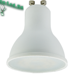 Купить лампы gu10 для эффективного освещения при минимуме затрат энергоресурса Ecola Reflector GU10 LED 7,0W 220V 6000K (композит) 56x50