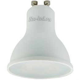 светодиодные лампы gu10 купить для полноценного освещения небольшого помещения Ecola Reflector GU10 LED 5,4W 220V 4200K (композит) 56x50