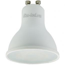 купить лампы gu10 недорого по цене интернет магазина в москве Ecola Reflector GU10 LED 7,0W 220V 4200K (композит) 56x50