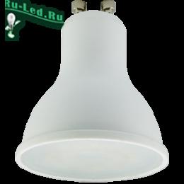 лампа цоколь gu10 для создания зонального освещения Ecola Reflector GU10 LED Premium 7,0W 220V 6000K (композит) 56x50