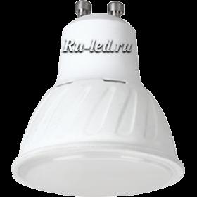 патрон gu10 позволят вам сэкономить средства на оплате коммунальных услуг  Ecola Reflector GU10 LED Premium 10,0W 220V 4200K (композит) 57x50
