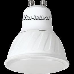 светодиодные лампы gu10 220v являются отличной альтернативой привычным лампам накаливания Ecola Reflector GU10 LED 10,0W 220V 4200K (композит) 57x50