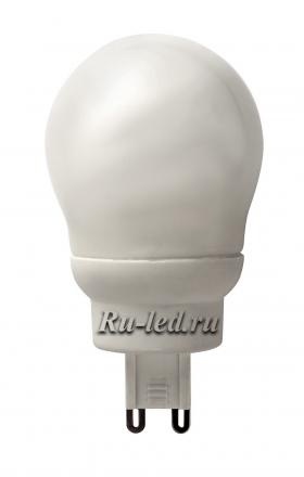 K9SV09ECC лампы - цоколь g9 ecola g9 globe  9w elg g45 220v 4100k 82x45