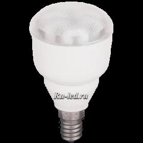 Эконом лампа рефлектор в форме груша купить дешево в москве Ecola Reflector R50 11W Luxer 220V E14 6400K (R50) 90x50
