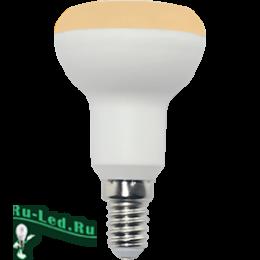 рефлектор лампа купить для эксплуатации в осветительных приборах Ecola Reflector R50 LED Premium 7,0W 220V E14 золотистый (композит) 87x50