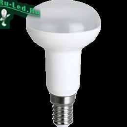 Ecola Reflector R50   LED  8,0W  220V E14 6500K (композит) 87x50