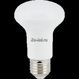 светодиодные лампы груша обладают отличной светоотдачей Ecola Reflector R50 LED Premium 7,0W 220V E14 2800K (композит) 87x50
