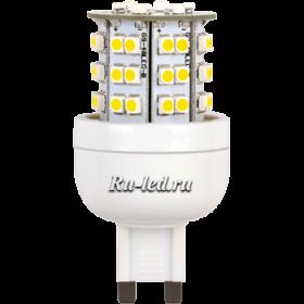 диодные лампы g9 обеспечат любому помещению отличное освещение Ecola G9 LED Premium 3,6W 220V 4000K 300° 64x32