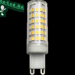 g9 220v помогает сделать освещение более равномерным по всей площади помещения Ecola G9 LED 10,0W Corn Micro 220V 4200K 360° 65x19