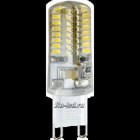 Лампы с цоколем g9 позволит вам сократить затраты на оплату коммунальных услуг Ecola G9 LED 3,0W Corn Micro 220V 2800K 320° 50x16
