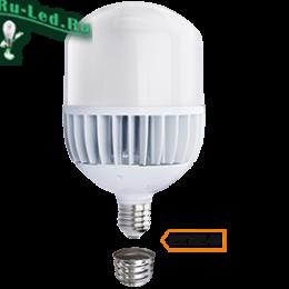 мощные лампы освещения наиболее востребованные в нашем онлайн-магазине Ecola High Power LED Premium 100W 220V универс. E27/E40 (лампа) 6000K 280х160mm