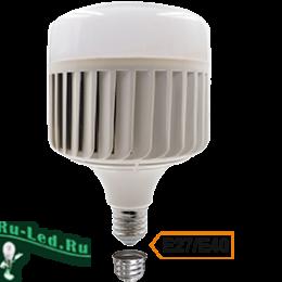 мощность лампы 220 для установки в любой современный осветительный прибор Ecola High Power LED Premium 150W 220V универс. E27/E40 (лампа) 6000K 260х180mm