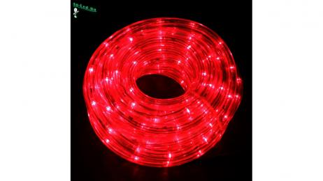 Ecola LED strip 220V STD  4,8W/m IP68 10x6 60Led/m Red красная лента  50м.