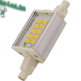 светодиодное освещение лампы прожекторы светильники от знаменитого бренда ECOLA Ecola Projector LED Lamp Premium 6,0W F78 220V R7s 4200K (алюм. радиатор) 78x20x32