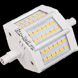 купить светодиодную лампу в прожектор, чтобы осветить любое помещение Ecola Projector LED Lamp Premium 9,0W F78 220V R7s 6500K (алюм. радиатор) 78x32x51