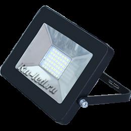 прожектор светодиодный уличный цена Ecola Projector LED 10,0W 220V 4200K IP65 Светодиодный Прожектор тонкий Черный 115x80x14