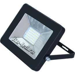 светодиодный прожектор 20w Ecola Projector LED 20,0W 220V 4200K IP65 Светодиодный Прожектор тонкий Черный 146x102x17