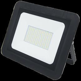 Ecola Projector  LED 150,0W 220V 6000K IP65 Светодиодный Прожектор тонкий Черный 280x250x30