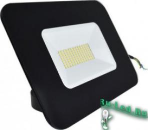 подсветка фасадов зданий светильники светодиодные подойдут для решения этой задачи Ecola Light Projector LED 50,0W 220V 4200K IP65 Светодиодный Прожектор