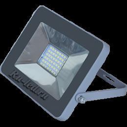 прожектор светодиодный 20 вт Ecola Projector LED 20,0W 220V 4200K IP65 Светодиодный Прожектор тонкий Серебристо-серый 146x102x17