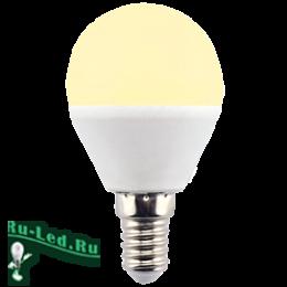 Какую светодиодную лампу купить, которая идеально впишется в интерьер вашего дома Ecola globe LED Premium 8,0W G45 220V E14 золотистый шар (композит) 78x45