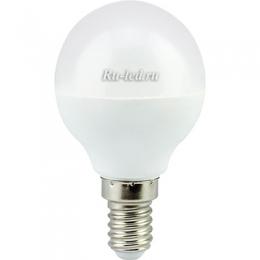 Светодиодные лампы е14 купить по минимальной цене с гарантией качества Ecola globe LED Premium 5,4W G45 220V E14 2700K шар (композит) 77x45