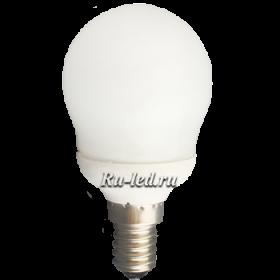 K4SV09ECC лампы - шары ecola globe  9w elg g45 220v e14 4100k 86x45