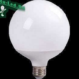 Лампа светодиодная 220 цена доступная для потребителей и малый расход энергии Ecola globe LED Premium 30,0W G120 220V E27 4000K 320° шар (композит) 170x120