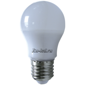 Лампы светодиодные с цоколем цена доступная и в долгосрочной перспективе выгодная Ecola classic LED Premium 7,0W A50 220V E27 4000K 360° (композит) 92x50