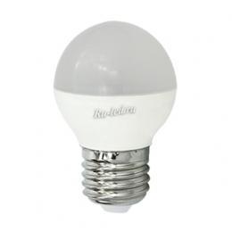 Светодиодные лампы е27 для дома уже давно славятся своей экономичностью Ecola globe LED Premium 8,0W G45 220V E27 4000K шар (композит) 75x45