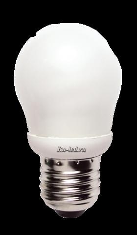 K7SV09ECC лампы - шары ecola globe  9w elg g45 220v e27 4100k 86x45