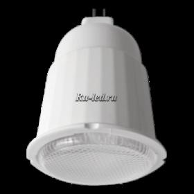 Лампа gu 5.3 цена Ecola MR16 11W Luxer 220V GU5.3 4100K 85x50