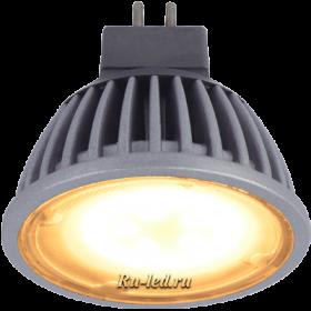 Лампочка gu 5.3 светодиодная создают комфортную и отдыхающую атмосферу Ecola MR16 LED 5,4W 220V GU5.3 золотистая матовое стекло (ребристый алюм. радиатор) 47x50