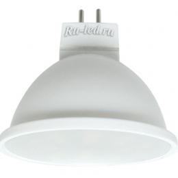 лампа  gu 5.3 220v 5w купить дешево по ценам интернет магазина онлайн Ecola MR16 LED 5,4W 220V GU5.3 6000K матовое стекло (композит) 52x50