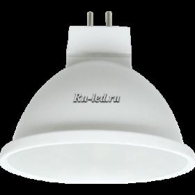 Лампы g5 3 купить недорого в интернет магазине в москве Ecola MR16 LED 5,4W 220V GU5.3 4200K матовое стекло (композит) 48x50