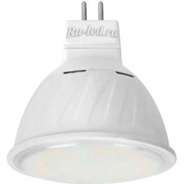 gu5 3 светодиодная лампа Ecola MR16 LED 10,0W 220V GU5.3 2800K прозрачное стекло (композит) 51x50