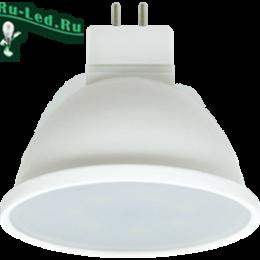 mr16 gu5.3 относится к энергоэффективной категории осветительных элементов Ecola MR16 LED Premium 7,0W 220V GU5.3 6000K матовое стекло (композит) 48x50