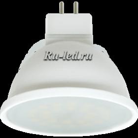 лампа светодиодная 7 GU 5.3 купить дешево через интернет портал Ecola MR16 LED Premium 7,0W 220V GU5.3 4200K матовое стекло (композит) 48x50