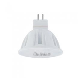 лампа светодиодная mr16 gu5 3 цена идеальна долговечная и экономичная  Ecola Light MR16 LED 4,0W 220V GU5.3 M2 6500K матовое стекло 49x50
