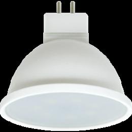 Ecola Light MR16   LED  7,0W  220V GU5.3 6000K матовая 48x50 (1 из ч/б уп. по 4)