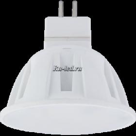 Лампа gu5 3 220v купить по цене интернет магазина в москве Ecola Light MR16 LED 4,0W 220V GU5.3 M2 4200K матовое стекло 46x50