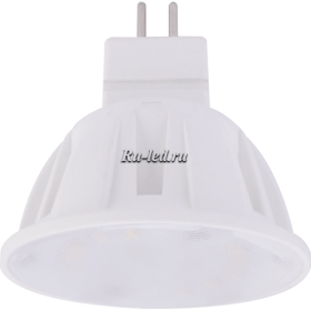 Led лампа mr16 GU5.3 Ecola Light MR16 LED 4,0W 220V GU5.3 M2 4200K прозрачное стекло 46x50