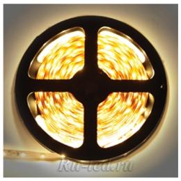 светодиодная лента 12 v отличается низким энергопотреблением и одновременно большим сроком службы Ecola LED strip PRO 9W/m 12V IP20 10mm 30Led/m 2800K 20Lm/LED 600Lm/m светодиодная лента на катушке 5м