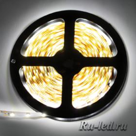 Ecola LED strip PRO 14.4W/m 24V IP20 10mm 60Led/m 2800K 18Lm/LED 1080Lm/m светодиодная лента на катушке 5м.