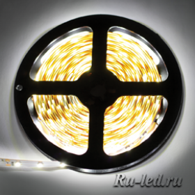 Ecola LED strip STD 14.4W/m 24V IP20 10mm 60Led/m 2800K 14Lm/LED 840Lm/m светодиодная лента на катушке 5м.