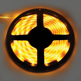 P5LY07ESB светодиодные ленты влагозащищенные ecola led strip pro 7,2w/m 12v ip65 10mm 30led/m yellow